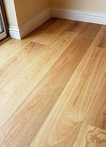 We fit all flooring, from wood to ceramic tiles.